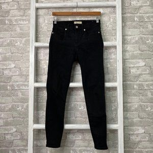 Madewell 9″ High-Rise Skinny Jeans Black Size 26
